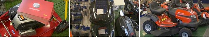 Åkgräsklippare och robotgräsklippare